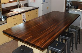 Butcher Block Top Care