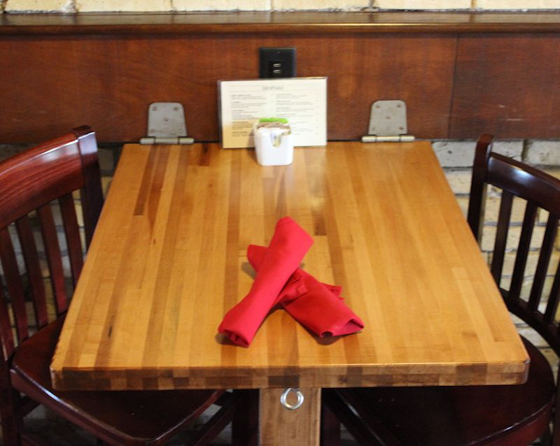 Restaurant Butcher Block Table Top