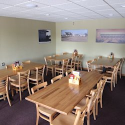 solid wood table_restaurant table tops_red oak