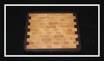 our end grain butcher block